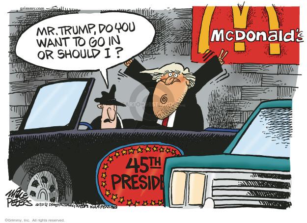 Mike Peters  Mike Peters' Editorial Cartoons 2021-02-06 presidential