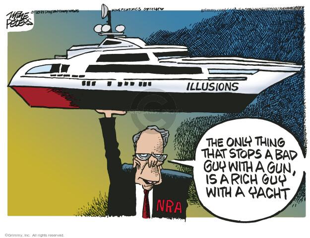 Mike Peters  Mike Peters' Editorial Cartoons 2021-04-08 gun rights