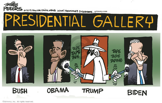 Mike Peters  Mike Peters' Editorial Cartoons 2021-06-13 presidential