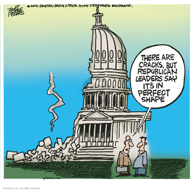Mike Peters  Mike Peters' Editorial Cartoons 2021-07-01 legislative