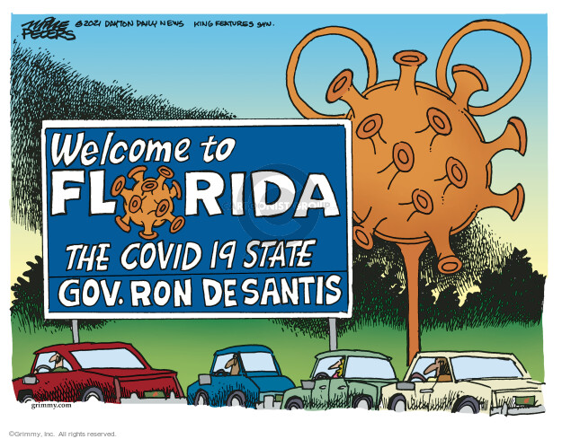 Mike Peters  Mike Peters' Editorial Cartoons 2021-07-27 state