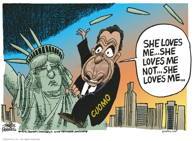 Mike Peters  Mike Peters' Editorial Cartoons 2021-08-07 state