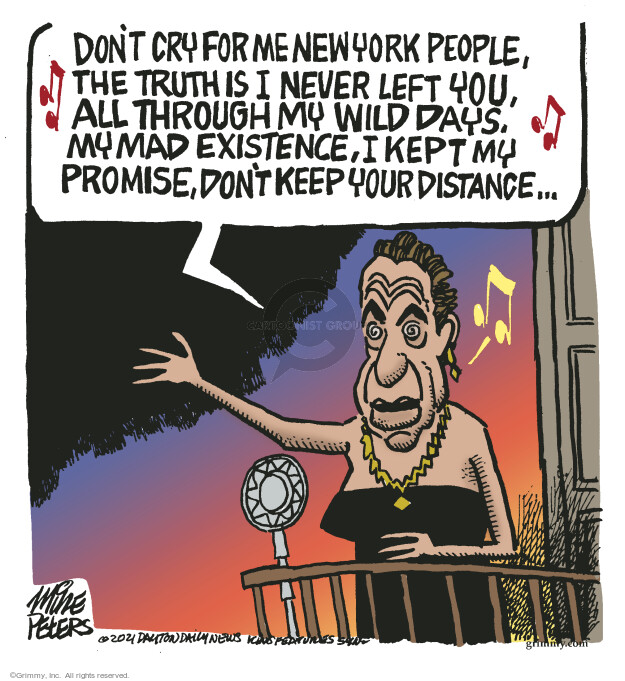 Mike Peters  Mike Peters' Editorial Cartoons 2021-08-11 state