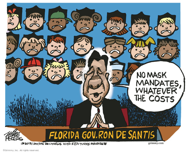 Mike Peters  Mike Peters' Editorial Cartoons 2021-08-24 state