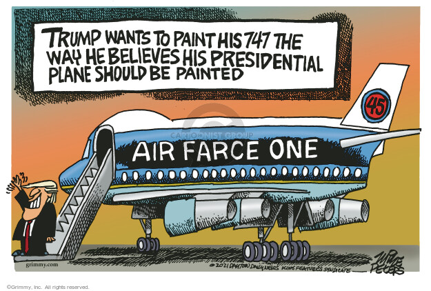 Mike Peters  Mike Peters' Editorial Cartoons 2021-09-21 presidential