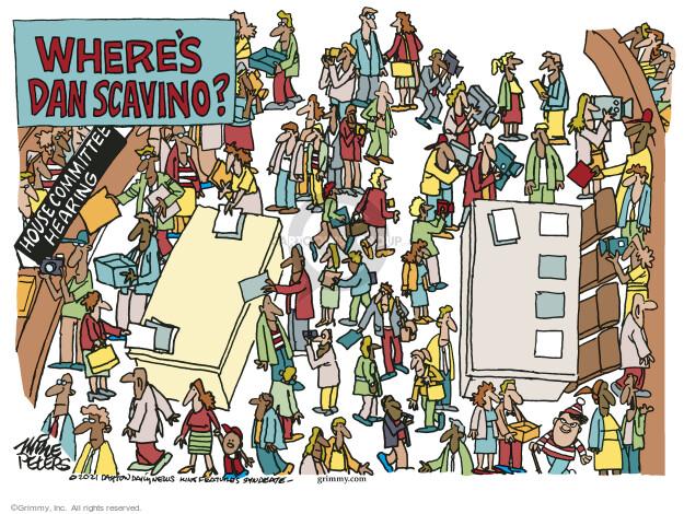 Mike Peters  Mike Peters' Editorial Cartoons 2021-10-09 presidential