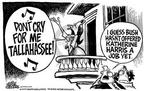 Cartoonist Mike Peters  Mike Peters' Editorial Cartoons 2001-01-13 2000 election