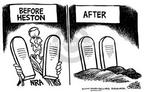 Cartoonist Mike Peters  Mike Peters' Editorial Cartoons 2000-03-01 association