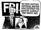 Cartoonist Mike Peters  Mike Peters' Editorial Cartoons 2003-01-04 two
