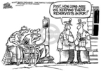 Cartoonist Mike Peters  Mike Peters' Editorial Cartoons 2005-01-13 senior citizen