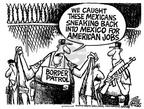 Cartoonist Mike Peters  Mike Peters' Editorial Cartoons 2004-01-16 state