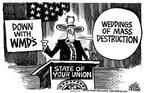 Cartoonist Mike Peters  Mike Peters' Editorial Cartoons 2004-01-18 policy