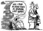 Cartoonist Mike Peters  Mike Peters' Editorial Cartoons 2002-01-23 hey