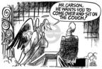 Cartoonist Mike Peters  Mike Peters' Editorial Cartoons 2005-01-26 Saint Peter