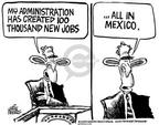 Cartoonist Mike Peters  Mike Peters' Editorial Cartoons 2004-01-30 foreign country