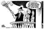 Cartoonist Mike Peters  Mike Peters' Editorial Cartoons 2005-02-03 worry