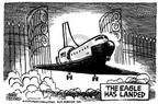 Cartoonist Mike Peters  Mike Peters' Editorial Cartoons 2003-02-04 phrase