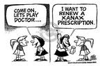 Cartoonist Mike Peters  Mike Peters' Editorial Cartoons 2002-02-06 prescription