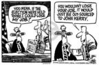Cartoonist Mike Peters  Mike Peters' Editorial Cartoons 2004-02-12 foreign country