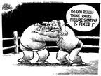 Cartoonist Mike Peters  Mike Peters' Editorial Cartoons 2002-02-15 2002