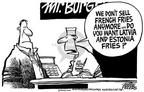 Cartoonist Mike Peters  Mike Peters' Editorial Cartoons 2003-02-22 anymore