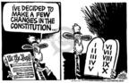 Cartoonist Mike Peters  Mike Peters' Editorial Cartoons 2004-02-26 amendment