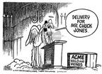 Cartoonist Mike Peters  Mike Peters' Editorial Cartoons 2002-02-27 saint