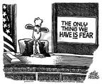 Cartoonist Mike Peters  Mike Peters' Editorial Cartoons 2003-02-27 quote