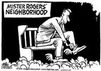 Cartoonist Mike Peters  Mike Peters' Editorial Cartoons 2003-03-02 child
