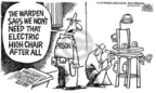 Mike Peters  Mike Peters' Editorial Cartoons 2005-03-05 capital punishment
