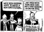Cartoonist Mike Peters  Mike Peters' Editorial Cartoons 2004-03-06 amendment