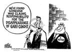 Cartoonist Mike Peters  Mike Peters' Editorial Cartoons 2002-03-08 election journalism