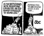 Cartoonist Mike Peters  Mike Peters' Editorial Cartoons 2002-03-09 Koppel
