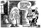 Cartoonist Mike Peters  Mike Peters' Editorial Cartoons 2004-03-14 NHL