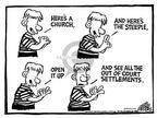 Cartoonist Mike Peters  Mike Peters' Editorial Cartoons 2002-03-21 playing