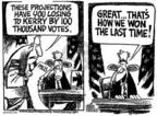 Cartoonist Mike Peters  Mike Peters' Editorial Cartoons 2004-03-21 2000 election