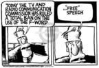 Cartoonist Mike Peters  Mike Peters' Editorial Cartoons 2004-03-25 press freedom