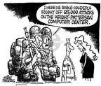 Cartoonist Mike Peters  Mike Peters' Editorial Cartoons 2002-03-27 000