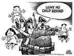 Cartoonist Mike Peters  Mike Peters' Editorial Cartoons 2003-03-28 child