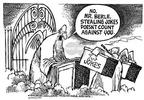 Cartoonist Mike Peters  Mike Peters' Editorial Cartoons 2002-03-30 saint