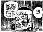 Cartoonist Mike Peters  Mike Peters' Editorial Cartoons 2003-04-13 major