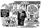 Cartoonist Mike Peters  Mike Peters' Editorial Cartoons 2003-04-18 south