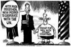 Cartoonist Mike Peters  Mike Peters' Editorial Cartoons 2004-04-18 play