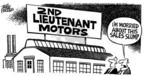 Cartoonist Mike Peters  Mike Peters' Editorial Cartoons 2005-04-23 worry