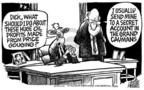 Cartoonist Mike Peters  Mike Peters' Editorial Cartoons 2005-04-30 expensive