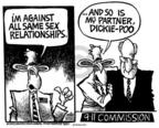 Cartoonist Mike Peters  Mike Peters' Editorial Cartoons 2004-05-01 9-11-01