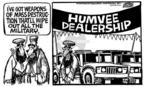 Cartoonist Mike Peters  Mike Peters' Editorial Cartoons 2004-05-06 mass