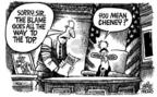 Cartoonist Mike Peters  Mike Peters' Editorial Cartoons 2004-05-08 goes
