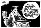 Cartoonist Mike Peters  Mike Peters' Editorial Cartoons 2002-05-10 podium