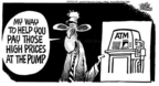 Cartoonist Mike Peters  Mike Peters' Editorial Cartoons 2005-05-12 machine